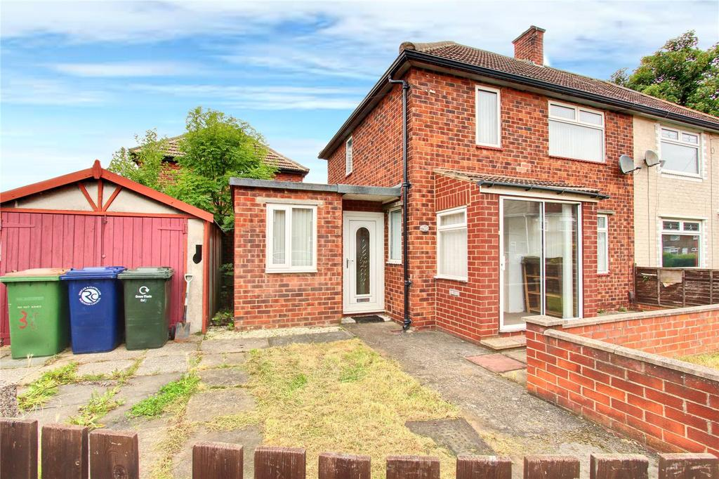 2 Bedrooms Semi Detached House for sale in Wordsworth Road, Eston