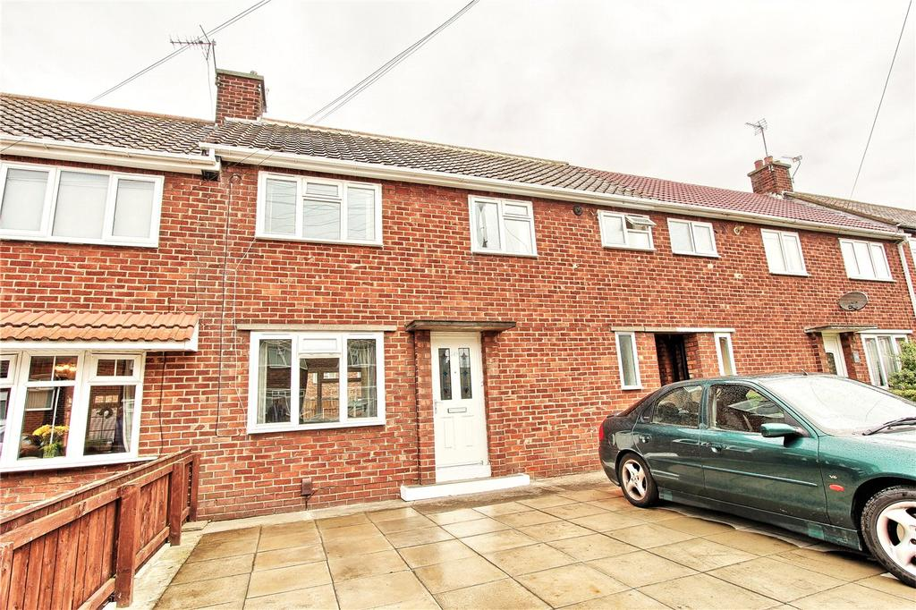 3 Bedrooms Terraced House for sale in Corfe Crescent, Billingham
