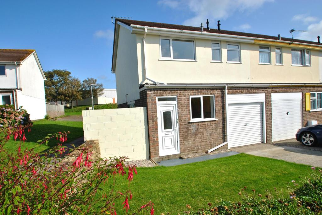 3 Bedrooms Semi Detached House for sale in Polwhele Road, Newquay