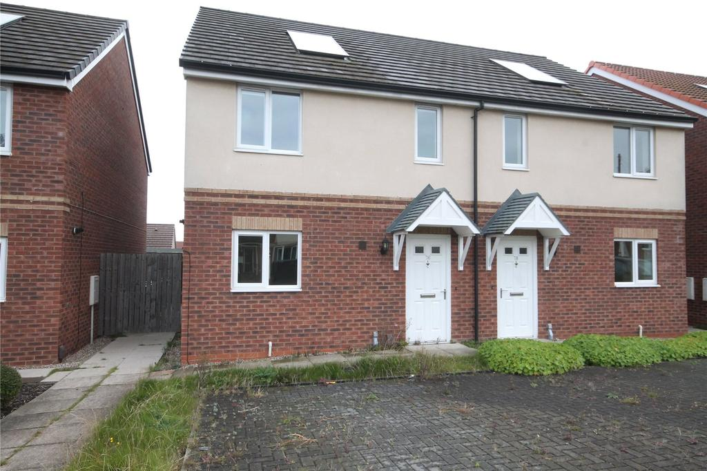 3 Bedrooms Semi Detached House for sale in Reginald Road, Kendray, Barnsley, S70
