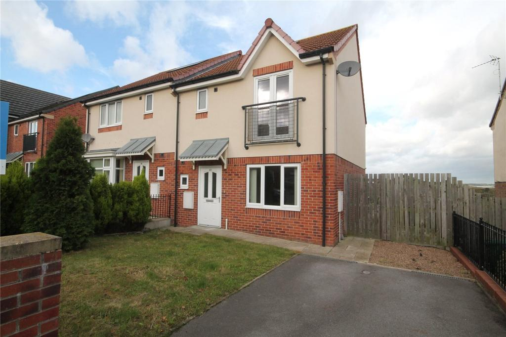 3 Bedrooms Semi Detached House for sale in Bellbrooke Avenue, Darfield, Barnsley, S73
