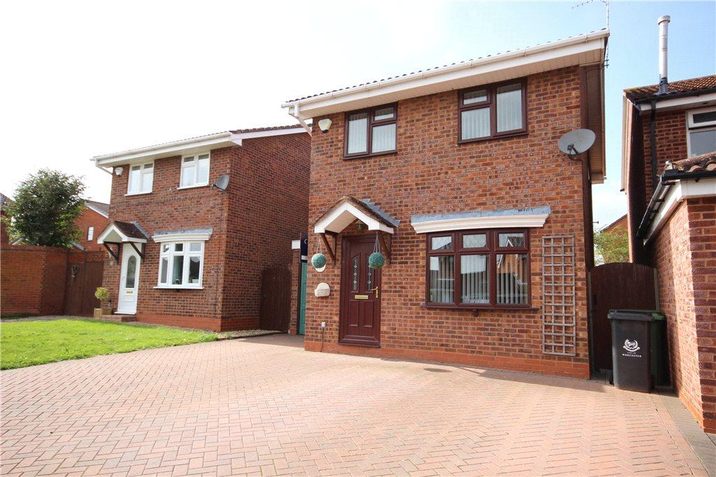 3 Bedrooms Detached House for sale in Grayling Close, Broomhall, Worcester, Worcestershire, WR5