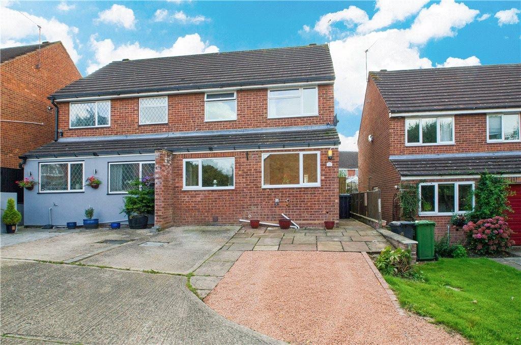 3 Bedrooms Semi Detached House for sale in Westbury Avenue, Droitwich, Worcestershire, WR9