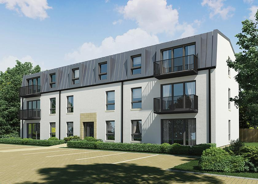 2 Bedrooms Penthouse Flat for sale in Plot 6 Park Road, Milngavie, G62 6PJ