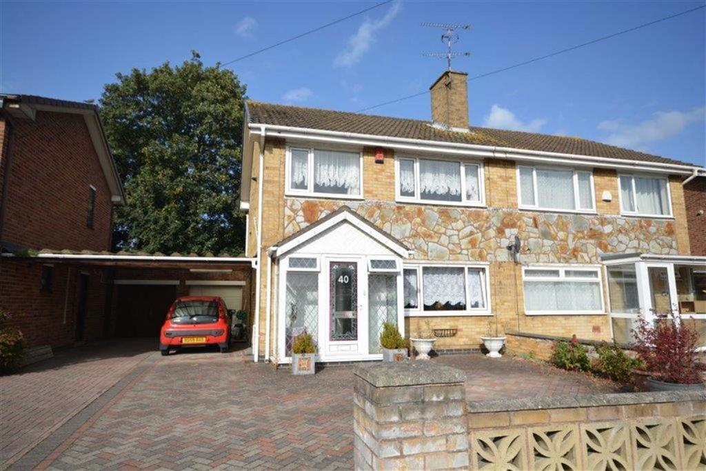 3 Bedrooms Semi Detached House for sale in Edward Tyler Road, Exhall