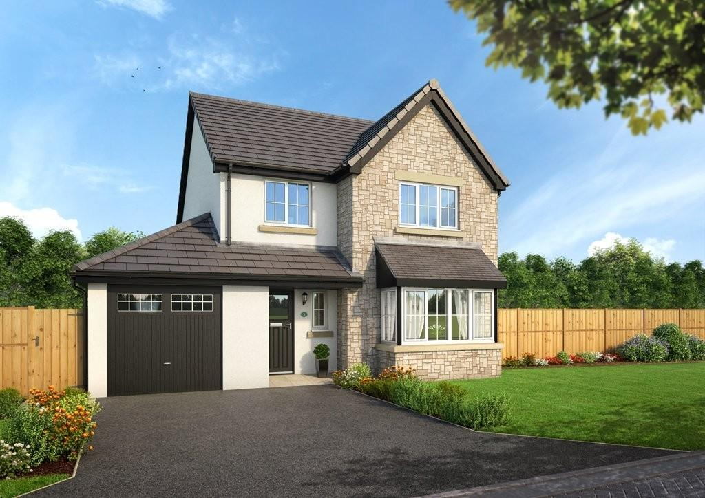 4 Bedrooms Detached House for sale in Plot 12, The Brantwood, Blenkett View