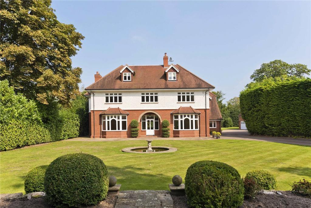 6 Bedrooms Detached House for sale in Granville Road, St George's Hill, Weybridge, Surrey, KT13