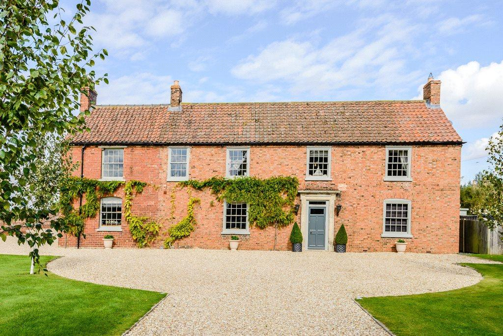 5 Bedrooms Detached House for sale in The Old Farmhouse, Martin Moor, Metheringham, Lincoln, LN4