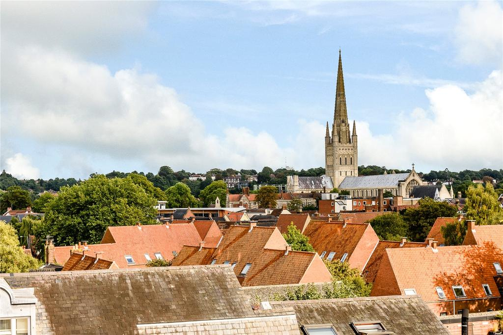 2 Bedrooms Penthouse Flat for sale in The Tower House, Water Lane, Colegate, Norwich, NR3