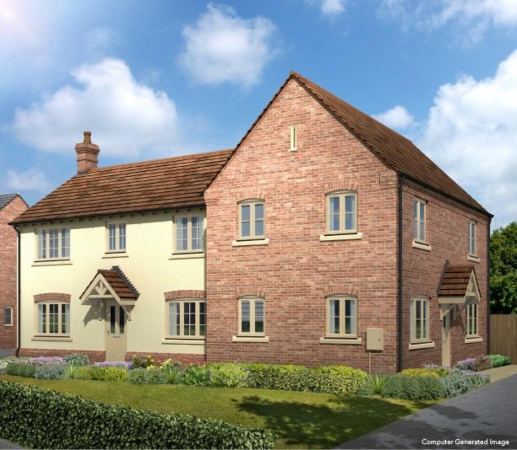 3 Bedrooms Semi Detached House for sale in Plot 2 Little Aspley
