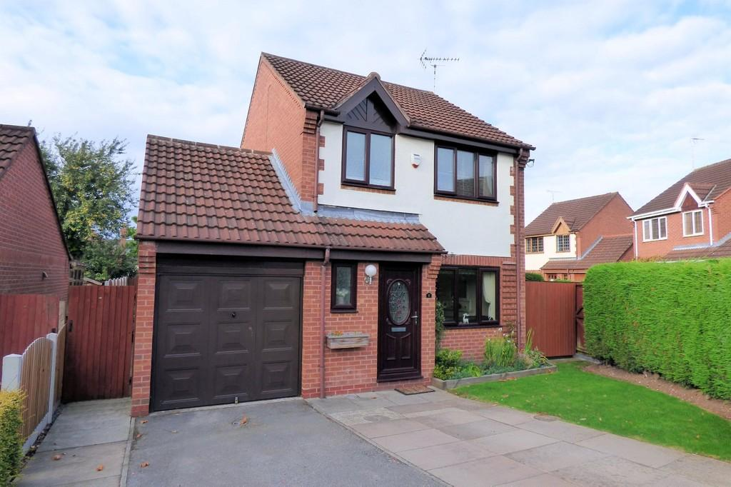 3 Bedrooms Detached House for sale in Avocet Close, Uttoxeter