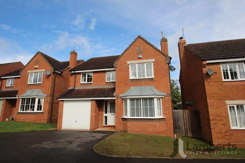 4 Bedrooms Detached House for sale in Ticknall Close, Brockhill