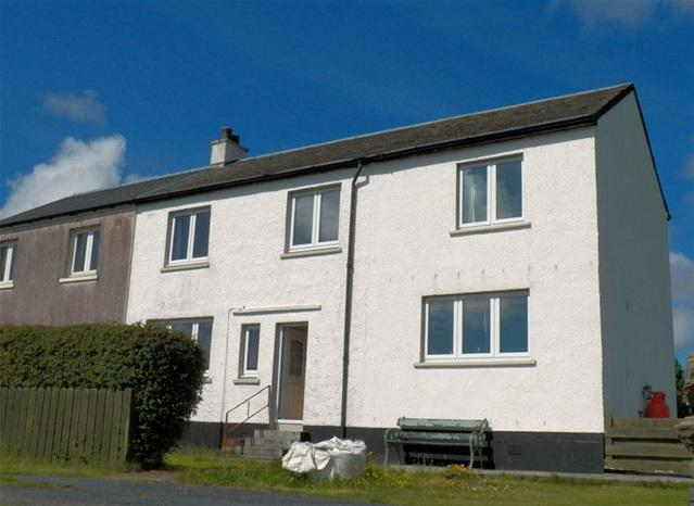 3 Bedrooms Semi Detached House for sale in 10 Daal Terrace, Port Charlotte, Isle of Islay, PA48 7UA