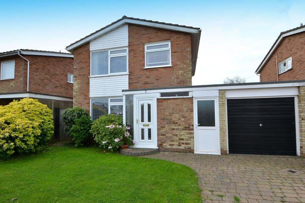 3 Bedrooms Link Detached House for sale in Bushey Close, Capel St. Mary, Ipswich, IP9 2HW