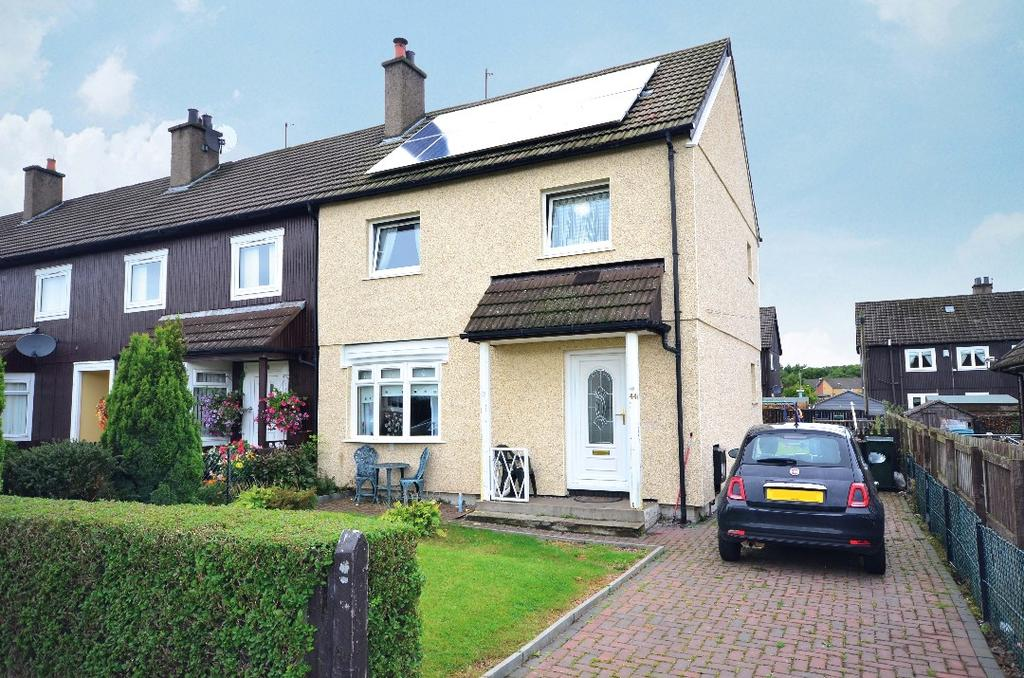 3 Bedrooms End Of Terrace House for sale in Fort Street, Motherwell, North Lanarkshire, ML1 3QP