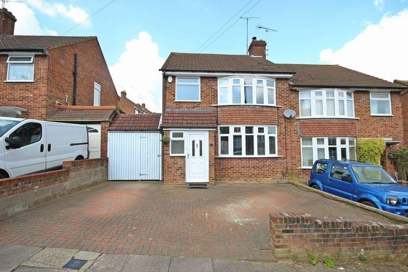 3 Bedrooms Semi Detached House for sale in Tenzing Grove, Luton, LU1