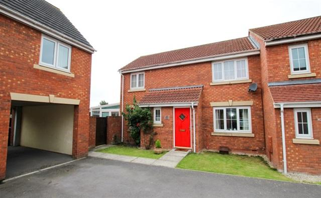 3 Bedrooms Semi Detached House for sale in Griffen Close, Bridgwater