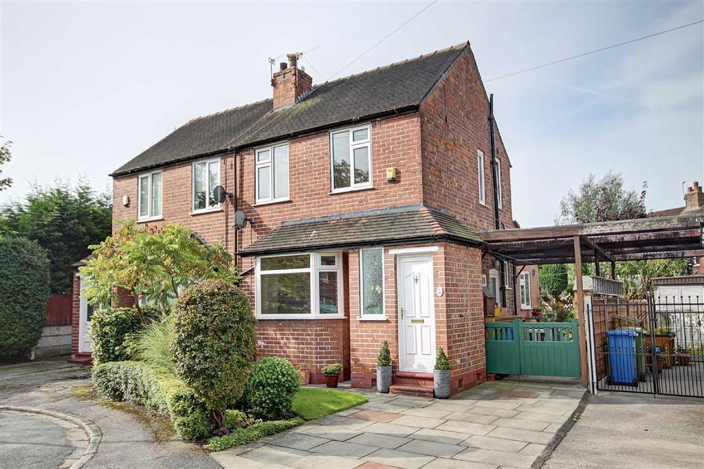 2 Bedrooms Semi Detached House for sale in Mullion Drive, Timperley, Cheshire