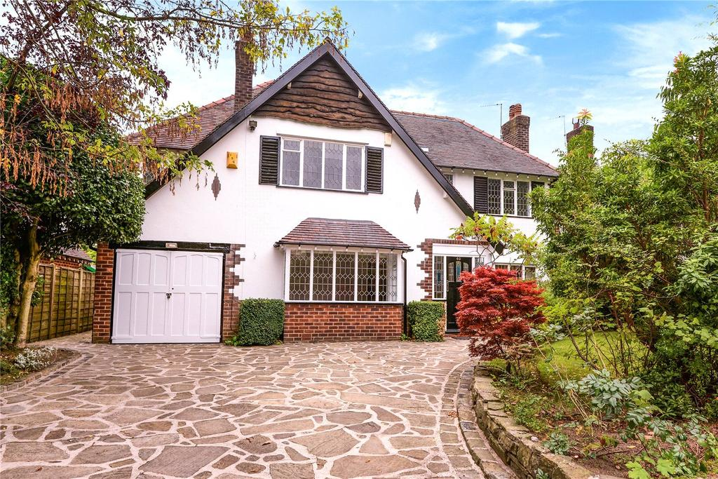 5 Bedrooms Detached House for sale in Broad Walk, Wilmslow, Cheshire, SK9
