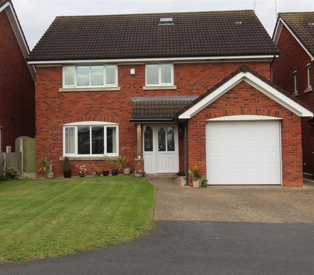 4 Bedrooms Detached House for sale in Cricket Meadow, Prees, Whitchurch