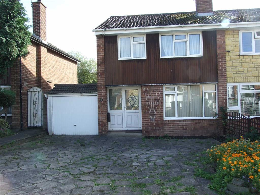 3 Bedrooms Semi Detached House for sale in Gallagher Road, Bedworth