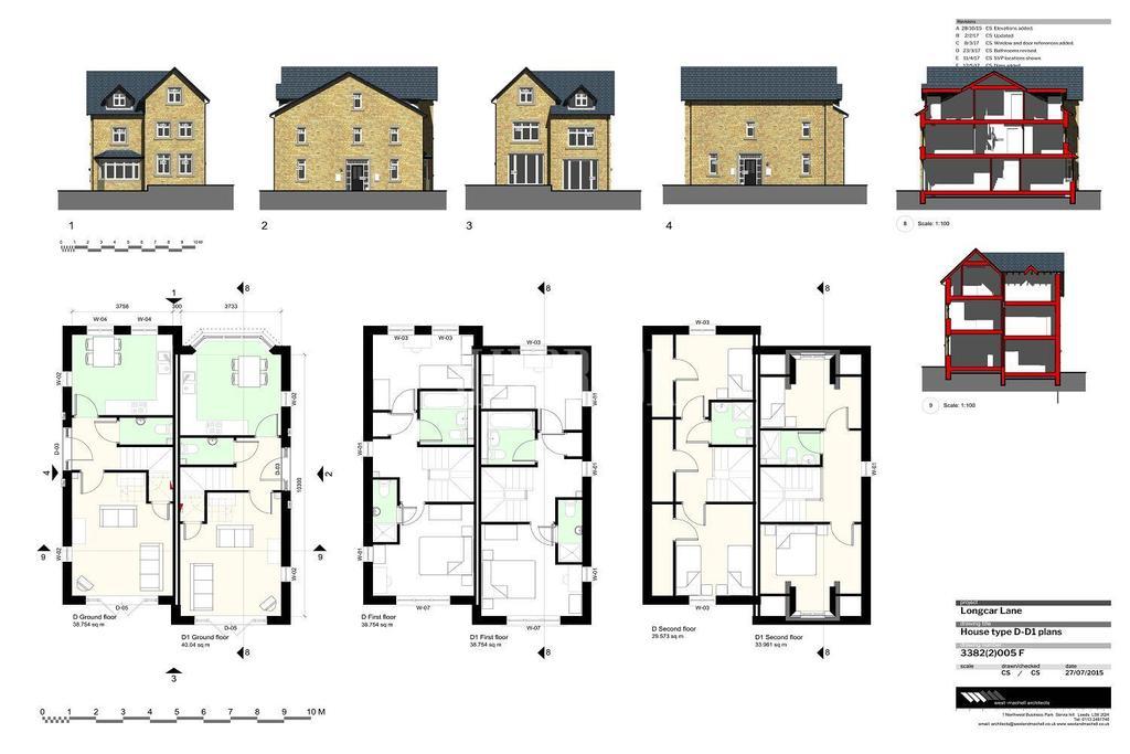 4 Bedrooms Semi Detached House for sale in The Locke - Blenheim View, Longcar Lane, Barnsley