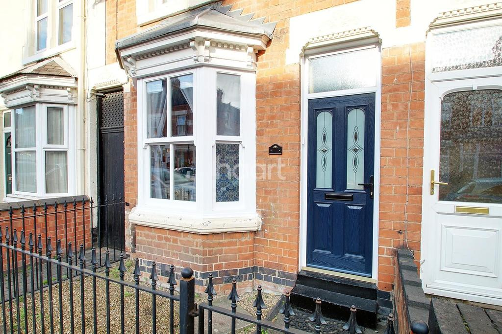2 Bedrooms End Of Terrace House for sale in Newport Street, Leicester
