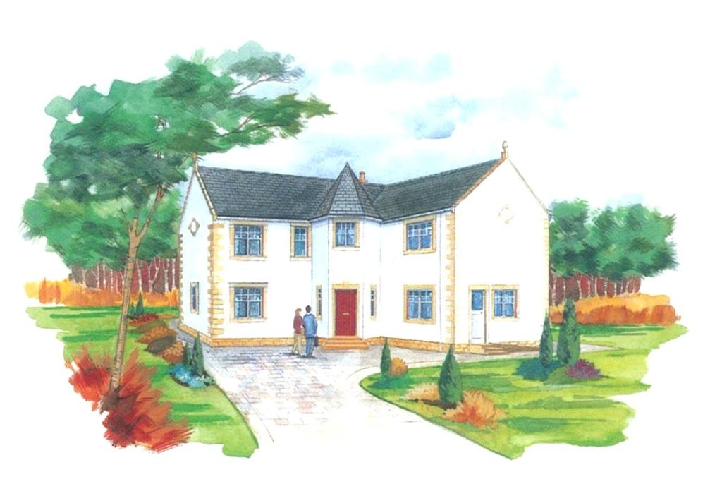 4 Bedrooms Detached House for sale in Dingleton Drive, Melrose, Scottish Borders