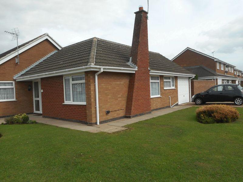 2 Bedrooms Bungalow for sale in Milby Drive, Nuneaton