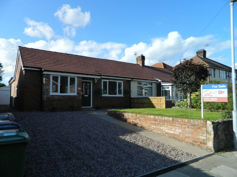 2 Bedrooms Semi Detached Bungalow for sale in Heath Road, Sandbach
