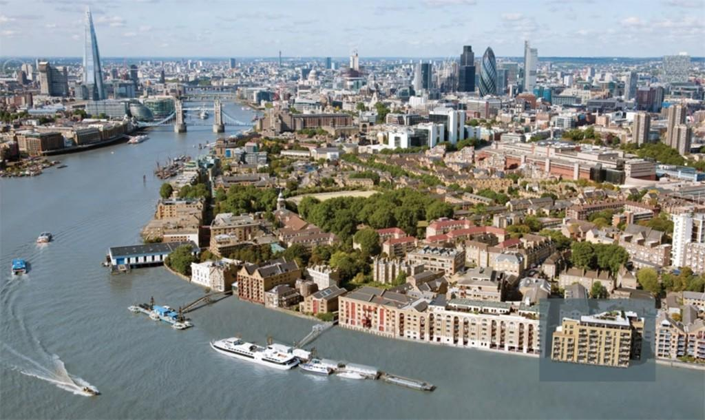 2 Bedrooms Flat for sale in Emery Wharf, London Dock, Pennington Street