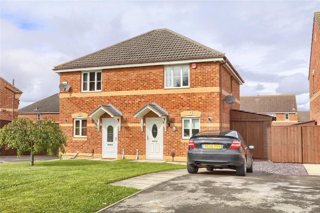 2 Bedrooms Semi Detached House for sale in Farthingale Way, Hemlington