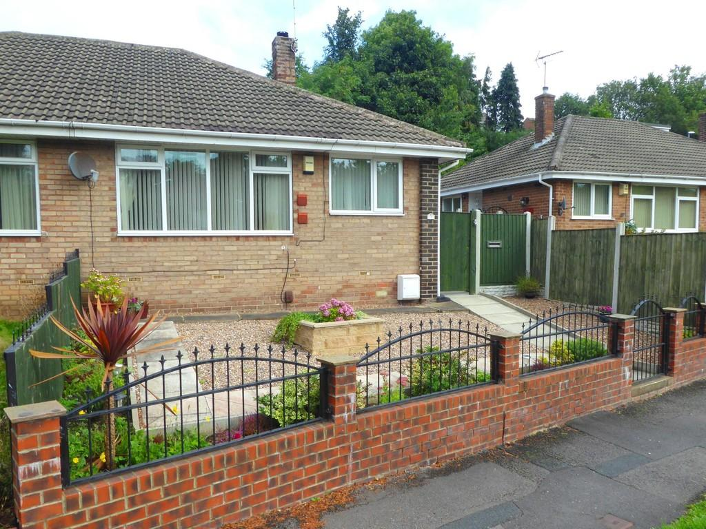 2 Bedrooms Semi Detached Bungalow for sale in Spring Valley Crescent, Bramley