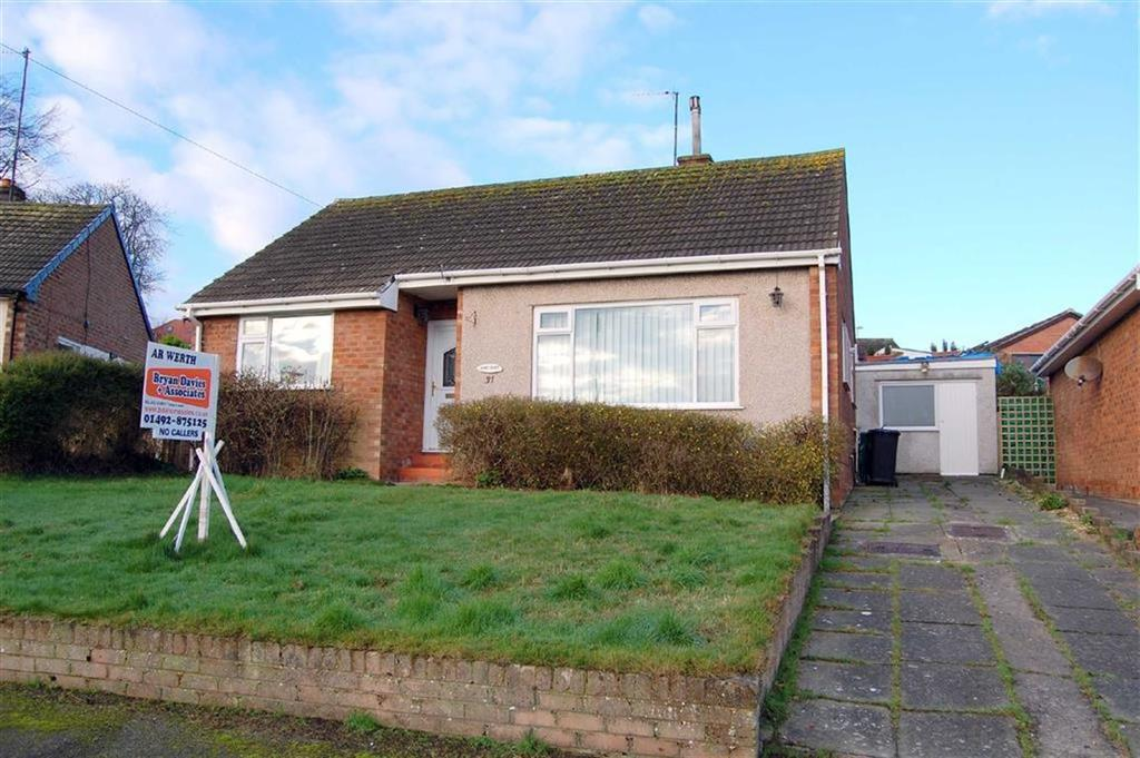 2 Bedrooms Detached Bungalow for sale in Bryn Marl, Llandudno Junction, Conwy