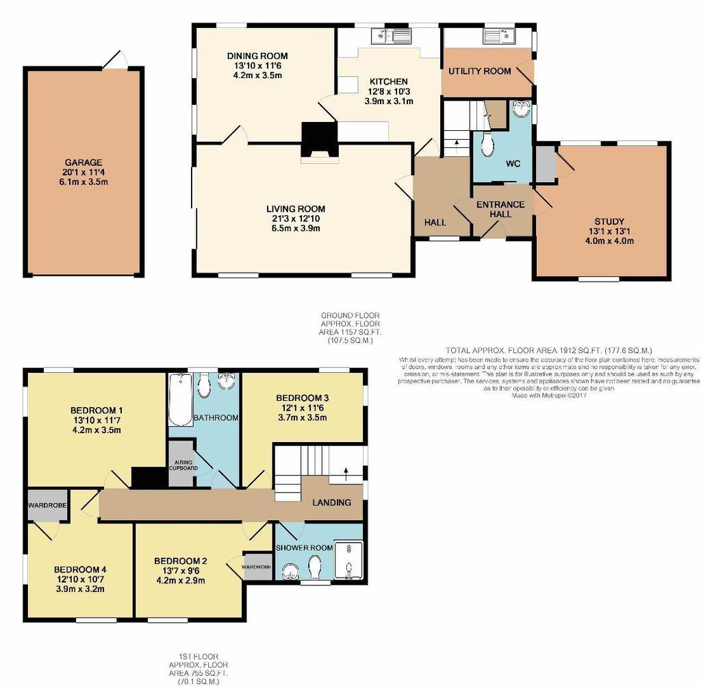 Floorplan: 17 Park Road WD174 QN print colour.jpg