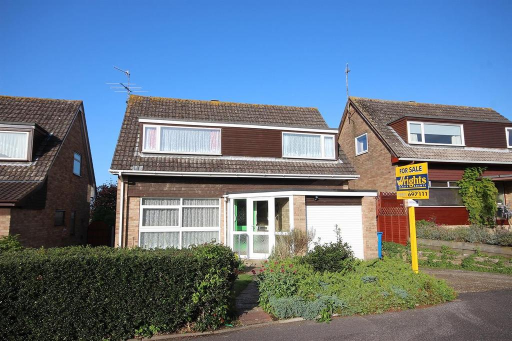 4 Bedrooms Detached House for sale in Hodges Close, Canford Heath, Poole