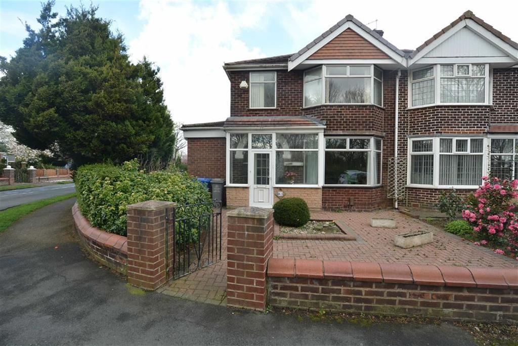 3 Bedrooms Semi Detached House for sale in Canterbury Road, URMSTON, Manchester