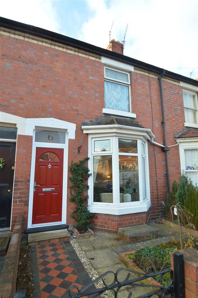 2 Bedrooms Terraced House for sale in 6 Hotspur Street, Greenfields, Shrewsbury SY1 2PZ