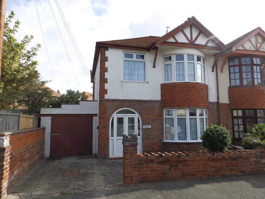 3 Bedrooms Semi Detached House for sale in Islwyn Avenue, Rhyl