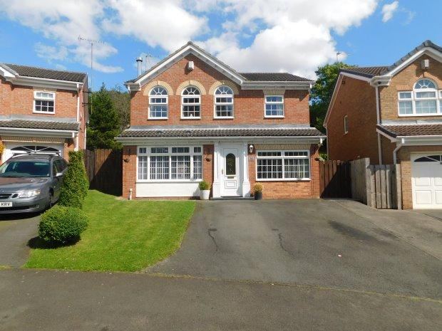4 Bedrooms Detached House for sale in RIVERSIDE, SOUTH CHURCH, BISHOP AUCKLAND