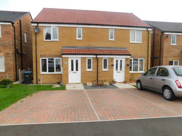 3 Bedrooms Semi Detached House for sale in DIXON WAY, COUNDON, BISHOP AUCKLAND