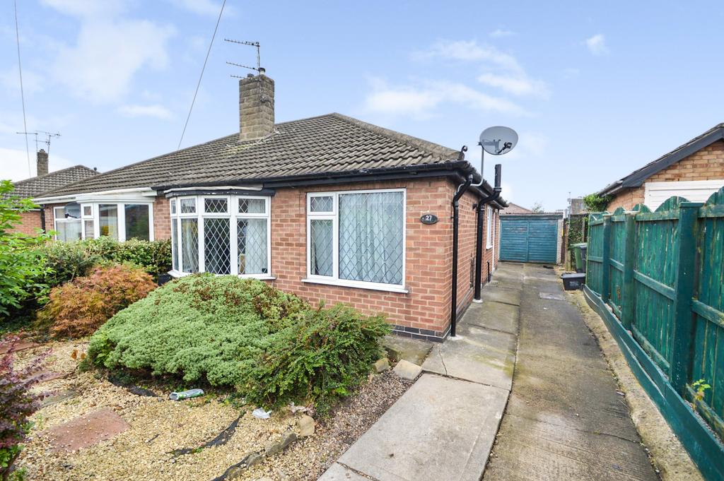 2 Bedrooms Semi Detached Bungalow for sale in Brockfield Park Drive, Huntington, York YO31
