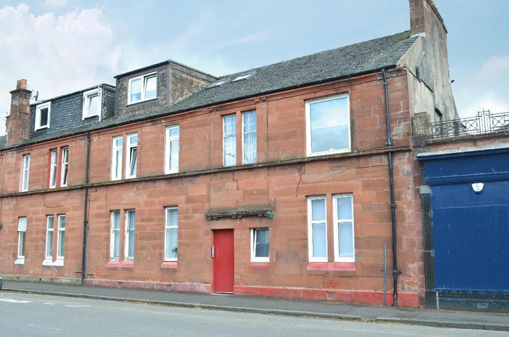 1 Bedroom Flat for sale in Main Street, Flat 1/R, Alexandria, West Dunbartonshire, G83 0BP