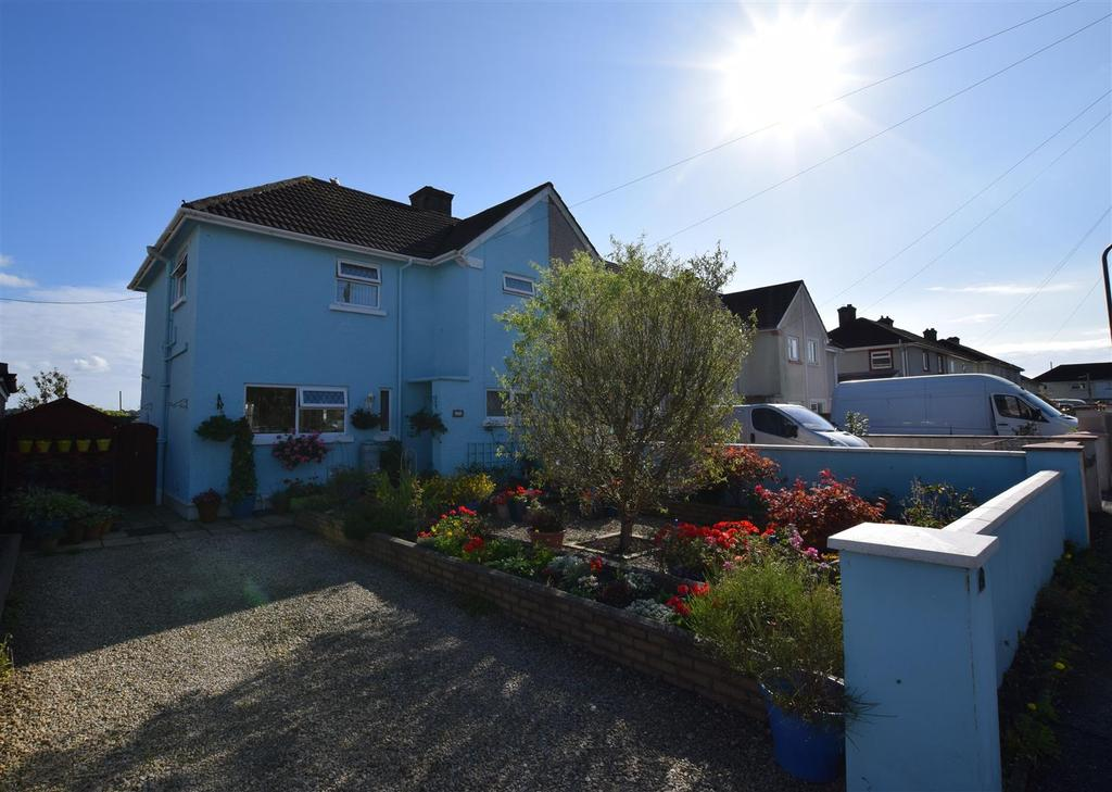 3 Bedrooms End Of Terrace House for sale in Priory Avenue, Haverfordwest