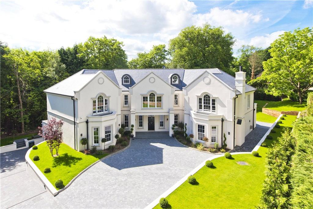 6 Bedrooms Detached House for sale in The Spinney, Queens Drive, Oxshott, Leatherhead, KT22