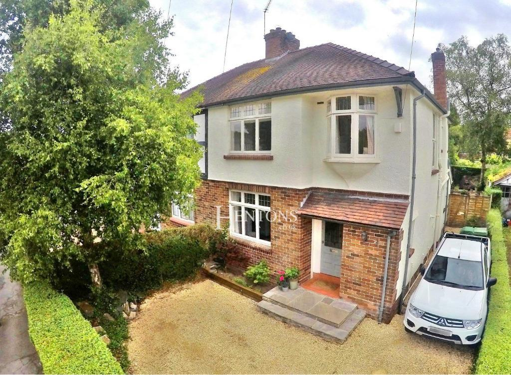 3 Bedrooms Semi Detached House for sale in Nant Fawr Road, Cyncoed, Cardiff