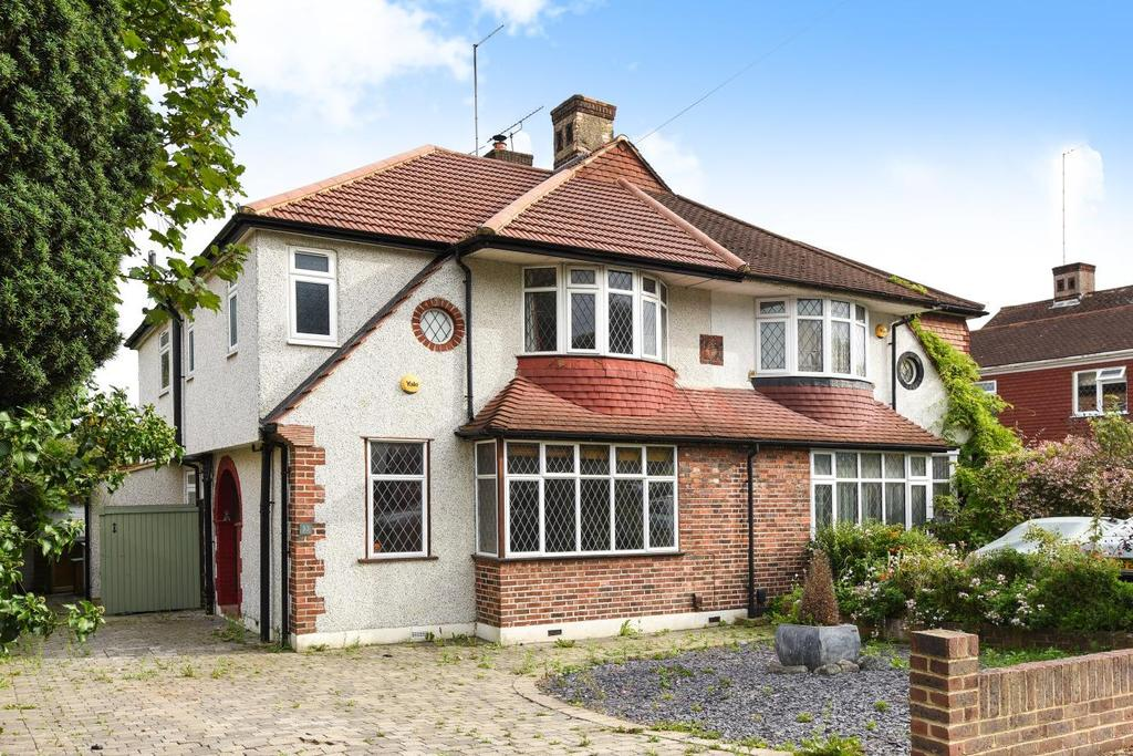 4 Bedrooms Semi Detached House for sale in Courtfield Rise, West Wickham