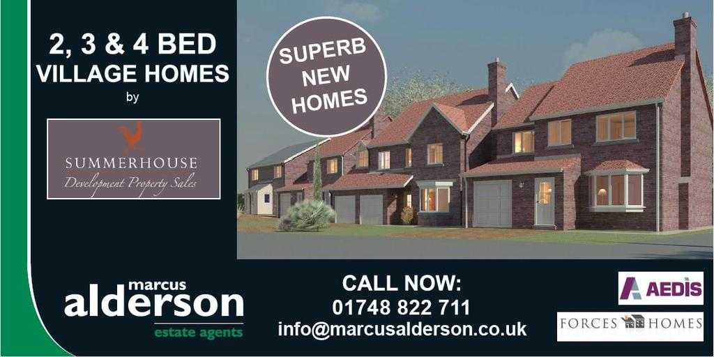 2 Bedrooms Semi Detached House for sale in Bishops Way, Catterick, Richmond