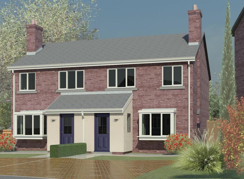 3 Bedrooms Semi Detached House for sale in Bishops Way, Catterick, Richmond