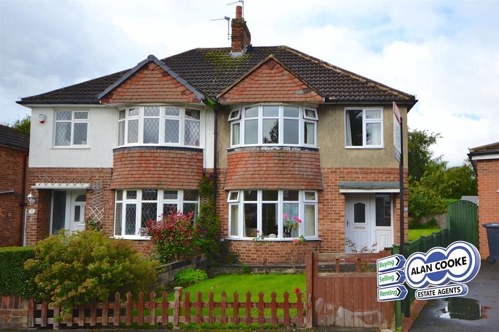 3 Bedrooms Semi Detached House for sale in Winding Way, Alwoodley, Leeds